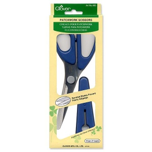 Clover patchwork scissors 7 inch (170mm)